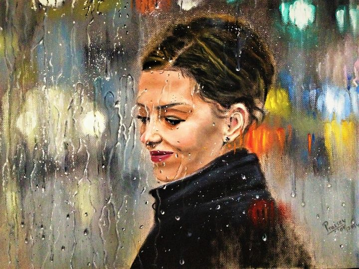 Rainy days - Praisey Peter Art