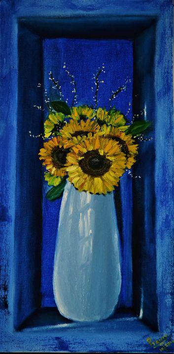 Sunflowers - Praisey Peter Art