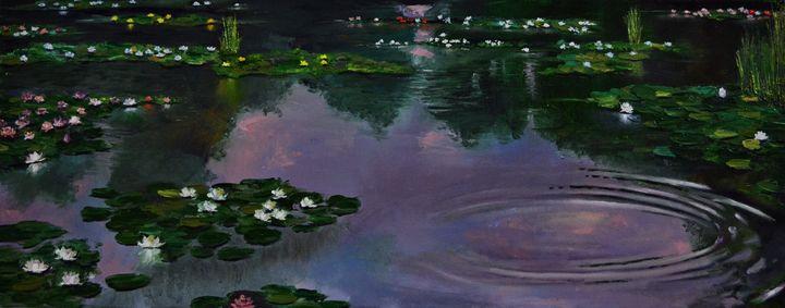 Waterlilies - Praisey Peter Art