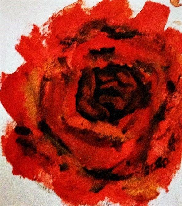 Red Rose - Praisey Peter Art
