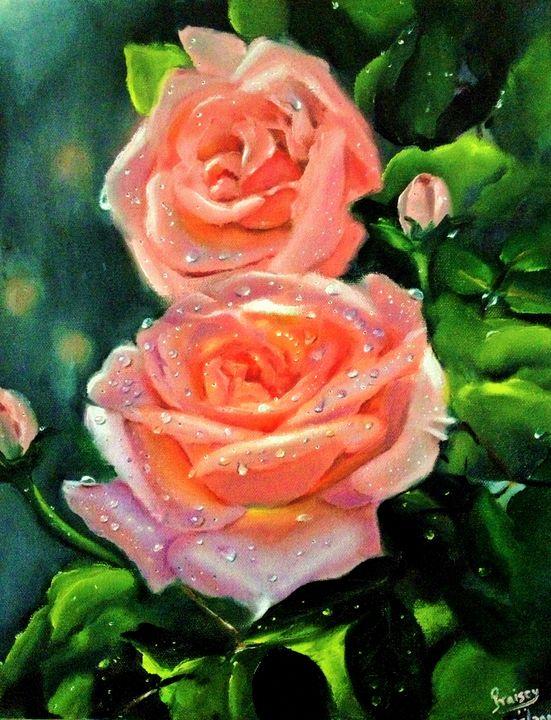Sunshine after Rain - Praisey Peter Art