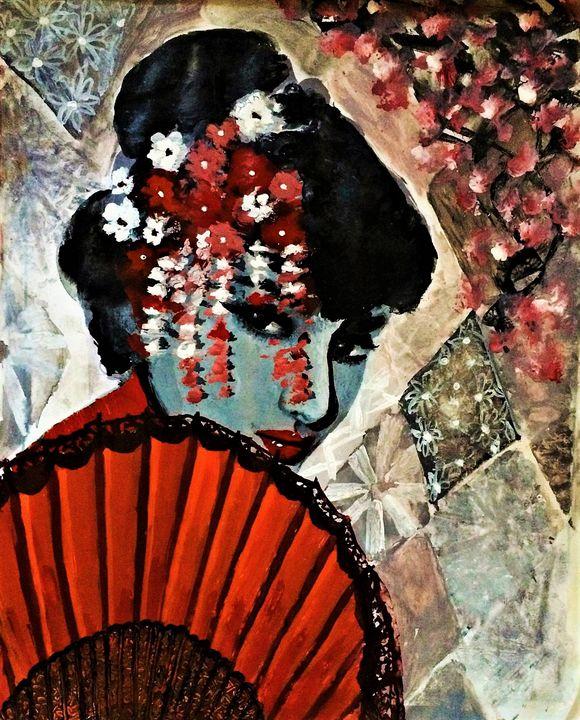 Japanese Art - Praisey Peter Art