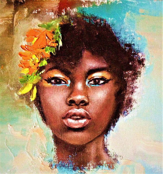 Portrait - Praisey Peter Art