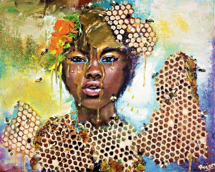 The Bee Queen - Praisey Peter Art