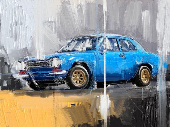 Blue Ford - MyStudio69