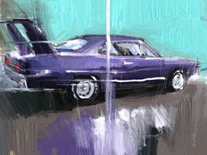 The Purple Plymouth