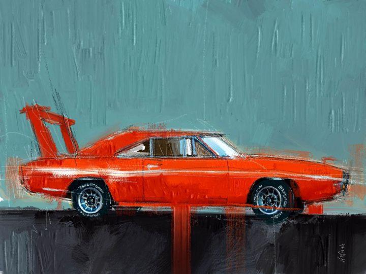 Red Plymouth - MyStudio69