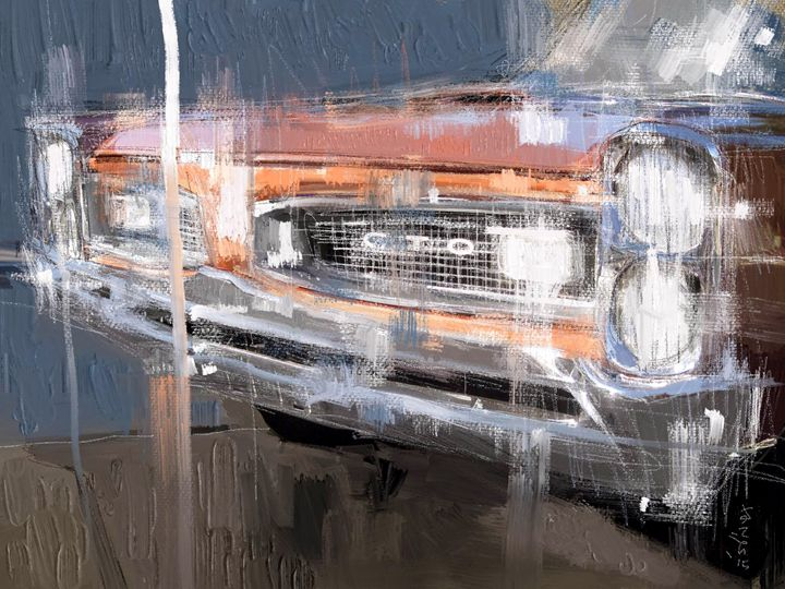 Classic Pontiac GTO - MyStudio69
