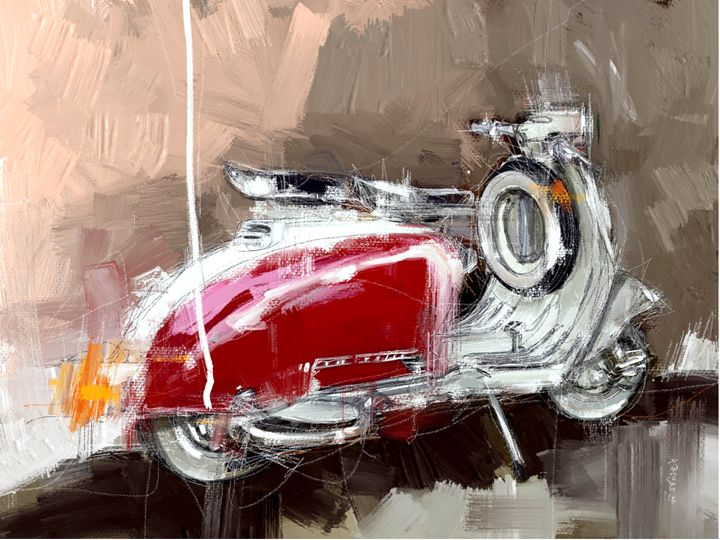 Red Lambretta - MyStudio69