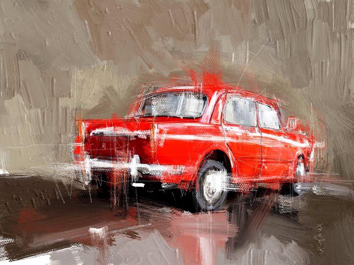 Red and Wet - MyStudio69