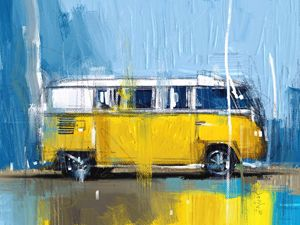 Yellow Camper - MyStudio69