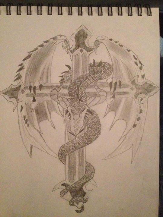 dragon of the cross - Burley
