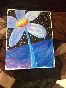 lonly flower