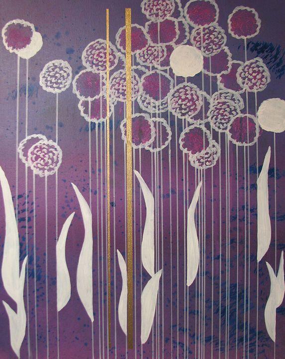 Flowers - Art by Elaina Vandervoort