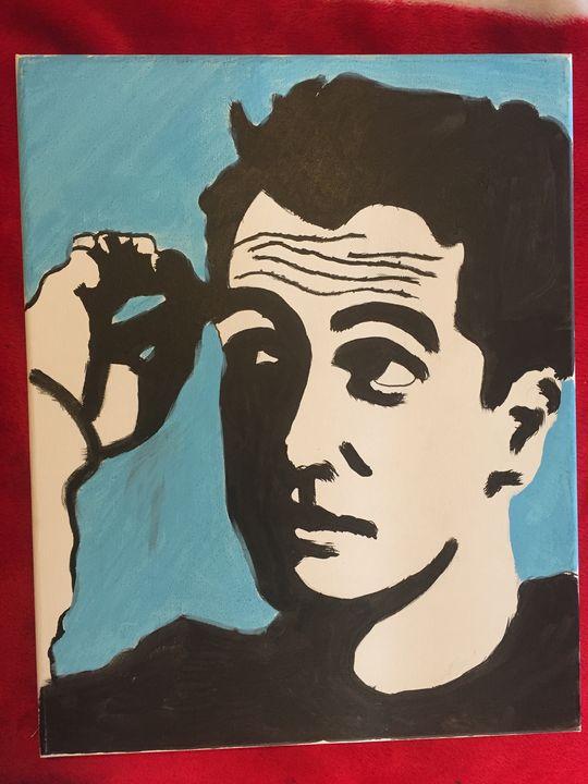 20 x 16 thinker portrait - Robert harris