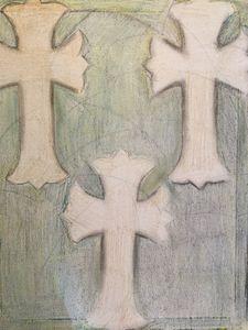 3 cross drawing