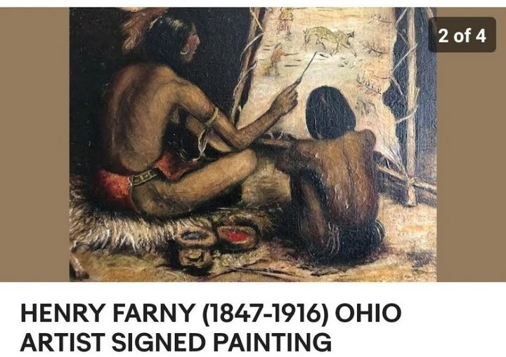 Farny original great hand done signe - Art and Jewelry Estate Buyers