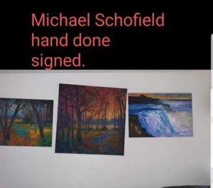 3 Michael Schofield orginal hand sig
