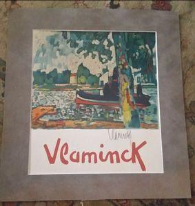 Vlaminck original lithograph signed