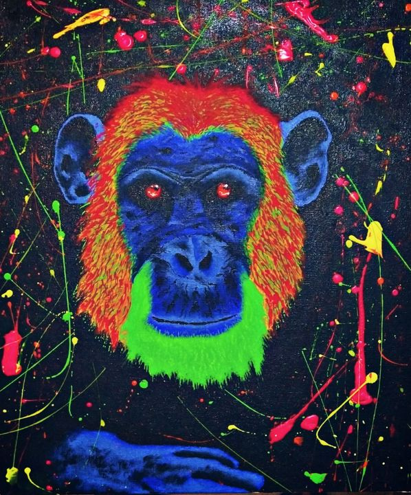 Neon chimp - Chris