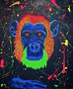 Neon chimp