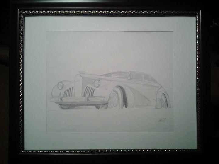 1940 La Salle - Automotive Sketches
