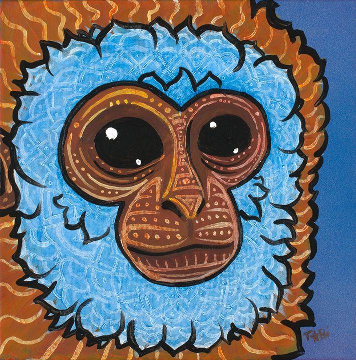 Primate Prankster - Spectra Art
