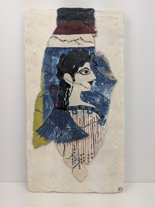 Minoan Woman - Kristin Dunham
