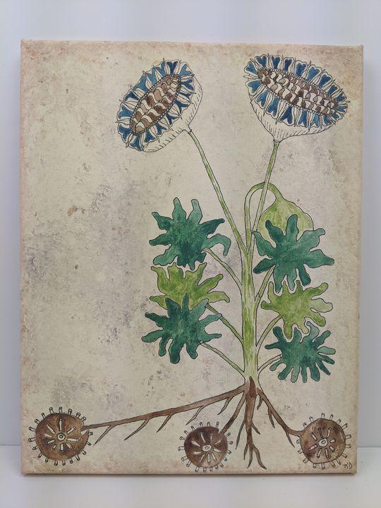 Blue Flowers - Kristin Dunham