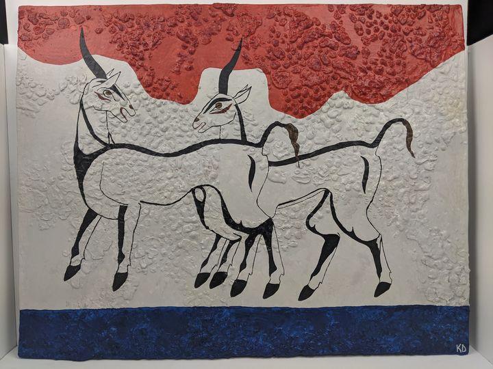 Antelopes - Kristin Dunham