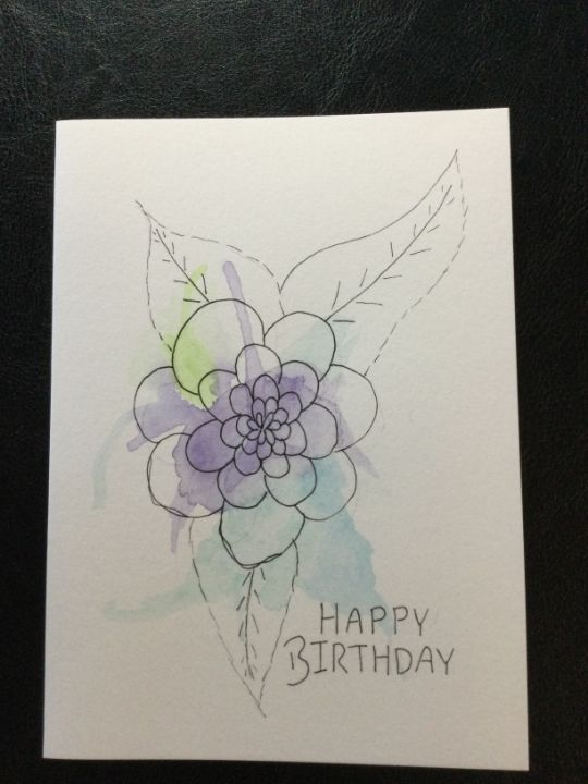 Birthday cards bags and tags - Brushstrokes of Joy.            Wholesale pricing.