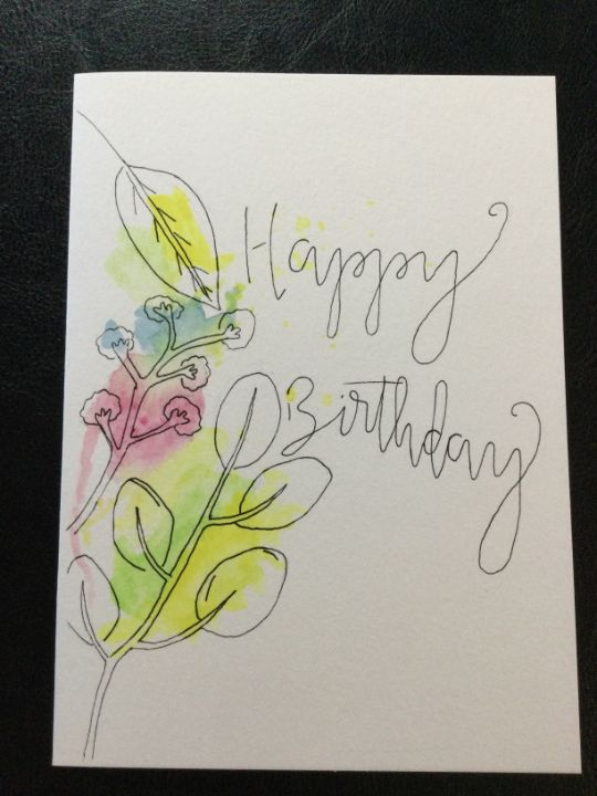Birthday cards bags and tags. - Brushstrokes of Joy.            Wholesale pricing.