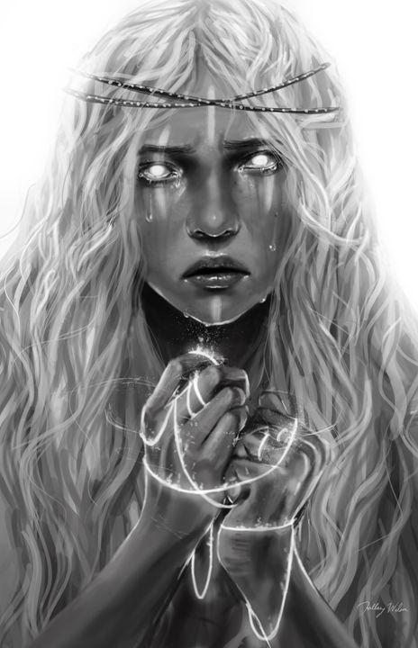 Captured Soul - Hillary Wilson Art