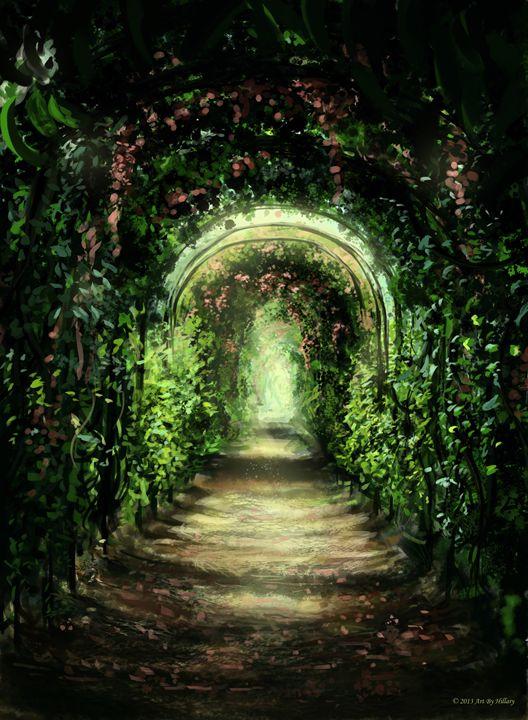 Garden Path - Hillary Wilson Art