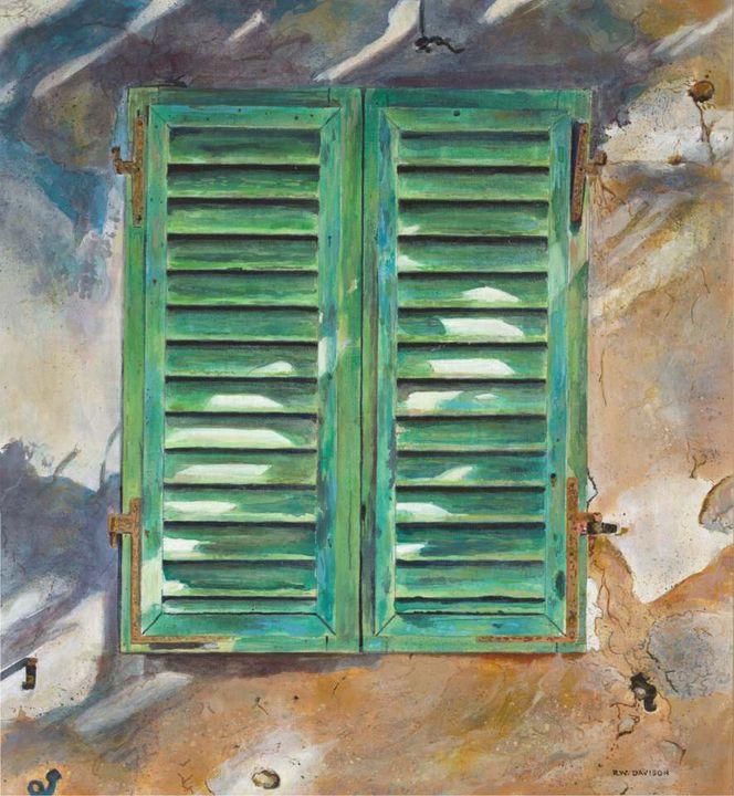 Green Shutters - RW Davison Art