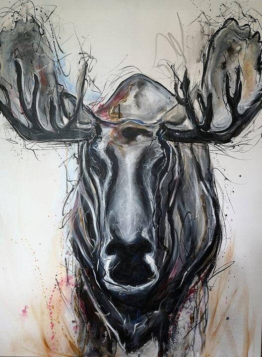 Moose Head - imaginart