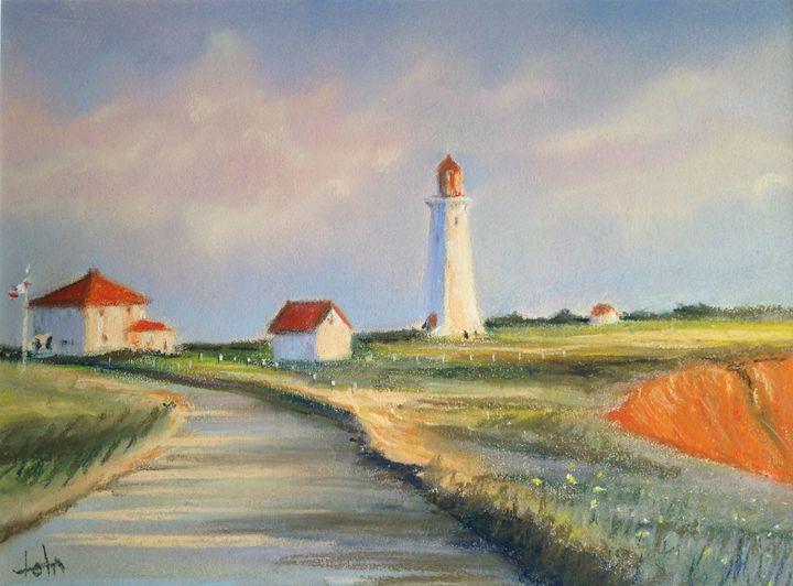 Iles de la Madeleine lighthouse - imaginart