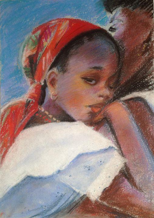 La petite Martiniquaise - imaginart