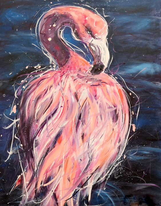 Flamingo - imaginart