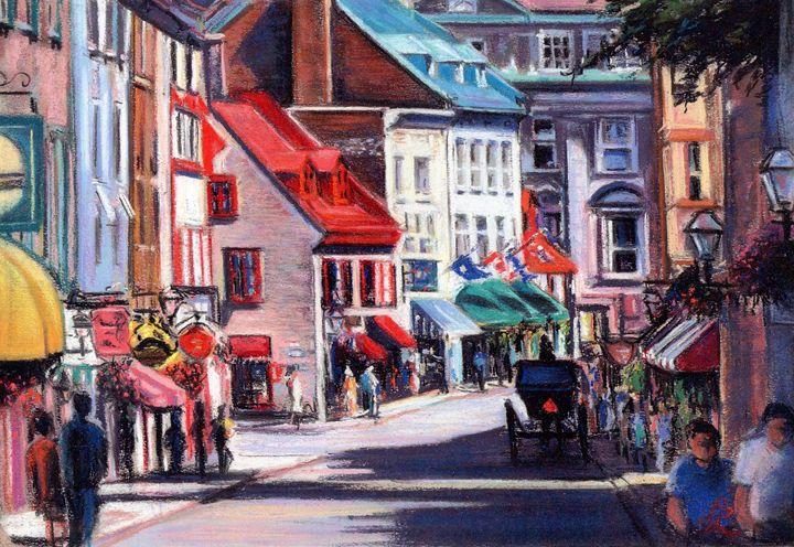 Rue Saint-Louis, Old Quebec - imaginart