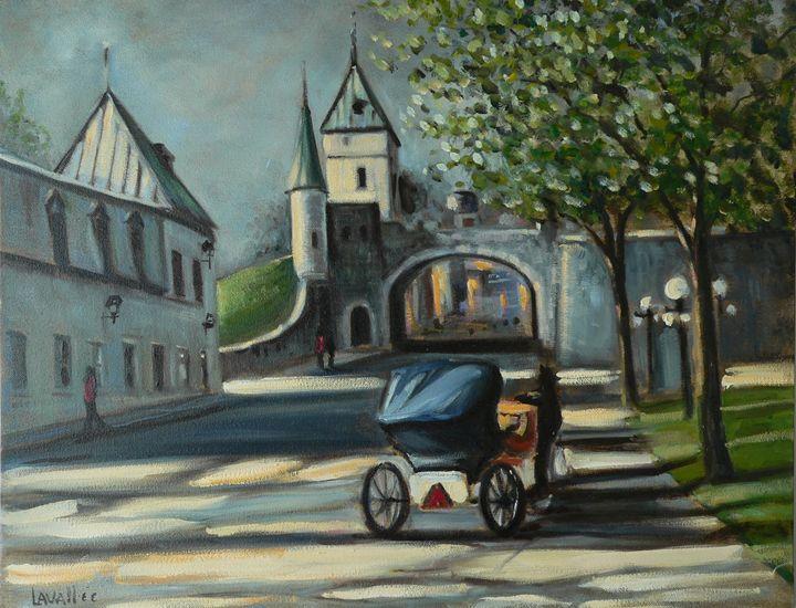 St-Louis Gate, Quebec city - imaginart