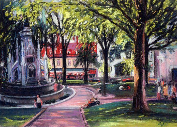 Place D'Armes Quebec City - imaginart