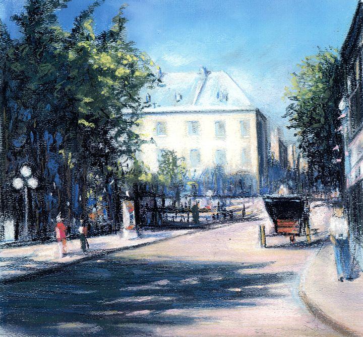 Rue St-Louis Quebec City - imaginart