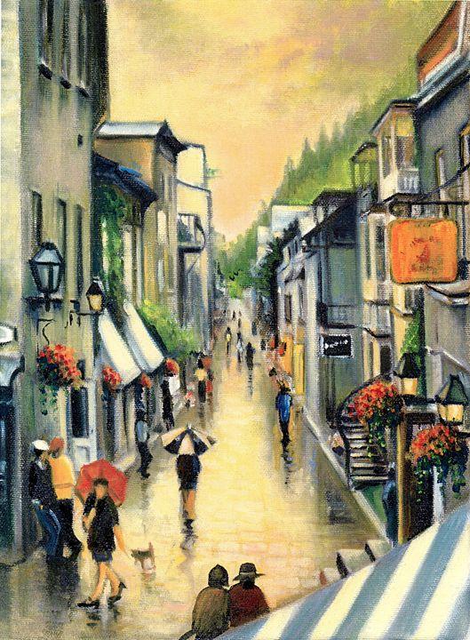 Le Petit-Champlain Old Quebec - imaginart