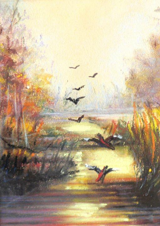 Hunter's landscape - imaginart