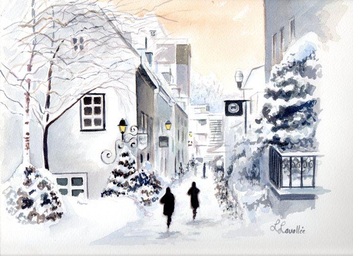 Rue Petit-Champlain, Quebec - imaginart