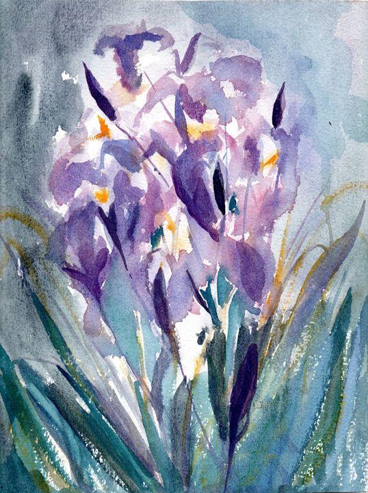 Spring Irises - imaginart