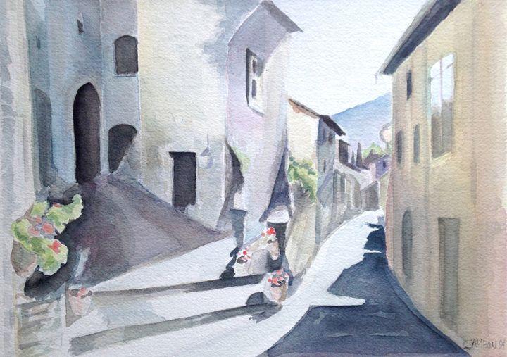 Village in  France - imaginart