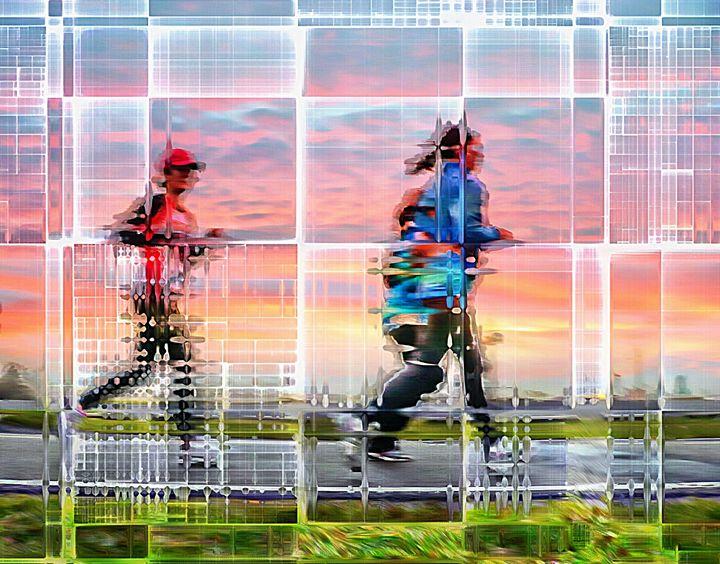 Women running - imaginart