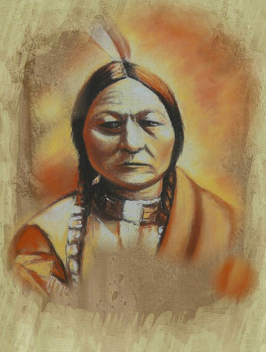 Sitting Bull - imaginart